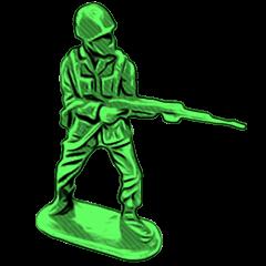 GOGO!!! Toy soldier