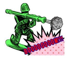 GOGO!!! Toy soldier sticker #4818561