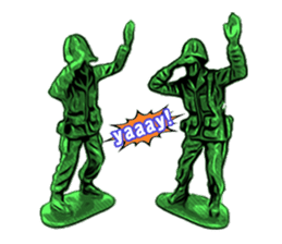 GOGO!!! Toy soldier sticker #4818563