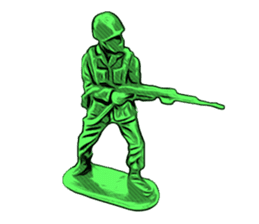 GOGO!!! Toy soldier sticker #4818564