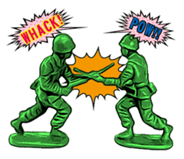 GOGO!!! Toy soldier sticker #4818566