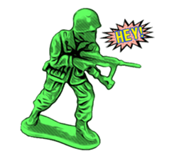 GOGO!!! Toy soldier sticker #4818571