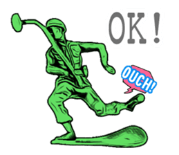 GOGO!!! Toy soldier sticker #4818576