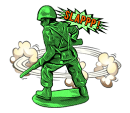 GOGO!!! Toy soldier sticker #4818577