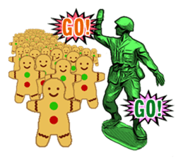 GOGO!!! Toy soldier sticker #4818579