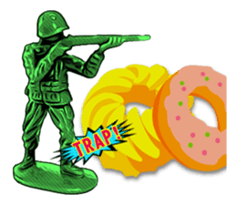 GOGO!!! Toy soldier sticker #4818580