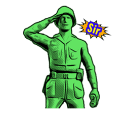 GOGO!!! Toy soldier sticker #4818582