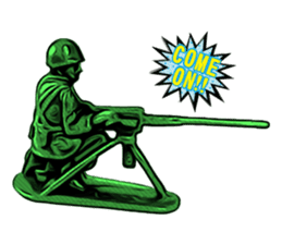 GOGO!!! Toy soldier sticker #4818584