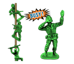 GOGO!!! Toy soldier sticker #4818585