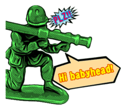 GOGO!!! Toy soldier sticker #4818586