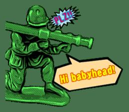 GOGO!!! Toy soldier sticker #4818586