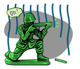 GOGO!!! Toy soldier sticker #4818587