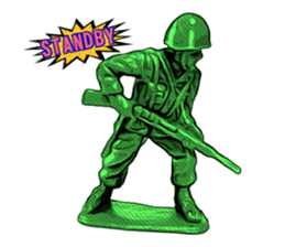 GOGO!!! Toy soldier sticker #4818589