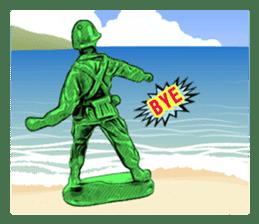 GOGO!!! Toy soldier sticker #4818594