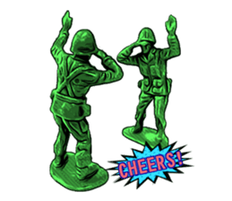 GOGO!!! Toy soldier sticker #4818595