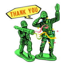 GOGO!!! Toy soldier sticker #4818596