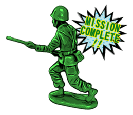 GOGO!!! Toy soldier sticker #4818597