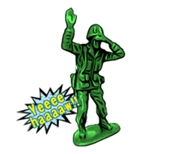 GOGO!!! Toy soldier sticker #4818599