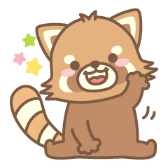 It is ponta of red pandas.