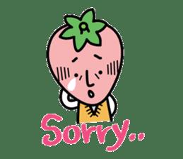 Mr. straberry sticker #4821782