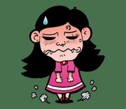 NU JANG SAD GIRL sticker #4822760