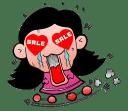 NU JANG SAD GIRL sticker #4822761