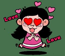 NU JANG SAD GIRL sticker #4822762