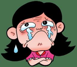 NU JANG SAD GIRL sticker #4822772