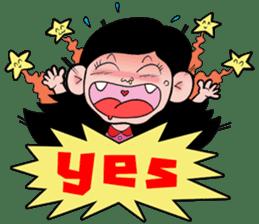 NU JANG SAD GIRL sticker #4822773
