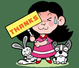 NU JANG SAD GIRL sticker #4822780