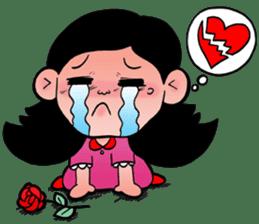 NU JANG SAD GIRL sticker #4822782