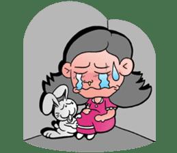 NU JANG SAD GIRL sticker #4822794