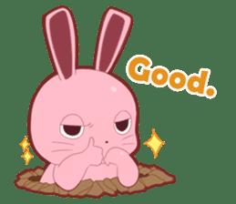 Sticker for conversations of rabbit sticker #4828425