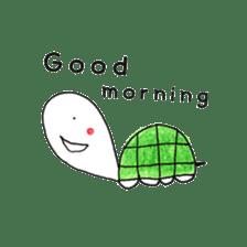 Free&Happy  Turtle.(English) sticker #4830704