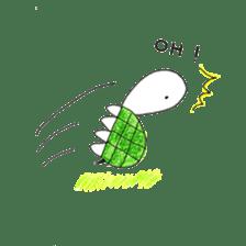 Free&Happy  Turtle.(English) sticker #4830709