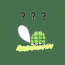 Free&Happy  Turtle.(English) sticker #4830714