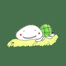 Free&Happy  Turtle.(English) sticker #4830719