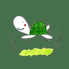 Free&Happy  Turtle.(English) sticker #4830721