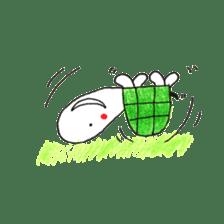 Free&Happy  Turtle.(English) sticker #4830722
