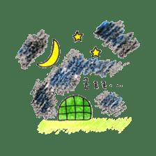 Free&Happy  Turtle.(English) sticker #4830739