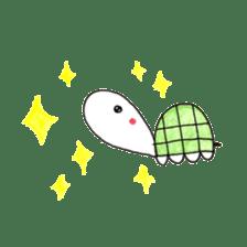 Free&Happy  Turtle.(English) sticker #4830741