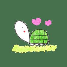 Free&Happy  Turtle.(English) sticker #4830742
