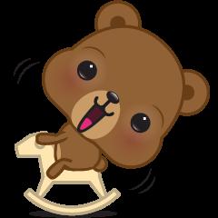 Coffee bear special greetings