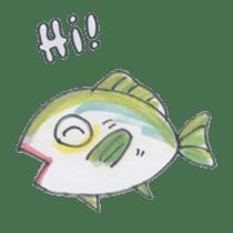 Friends of the sea! sticker #4847922