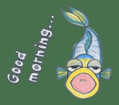 Friends of the sea! sticker #4847927