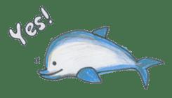 Friends of the sea! sticker #4847931
