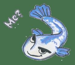 Friends of the sea! sticker #4847938