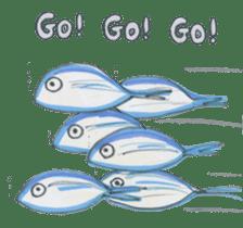 Friends of the sea! sticker #4847941