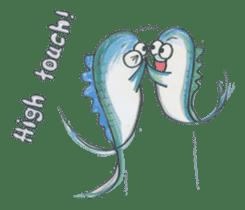 Friends of the sea! sticker #4847944