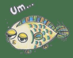 Friends of the sea! sticker #4847956